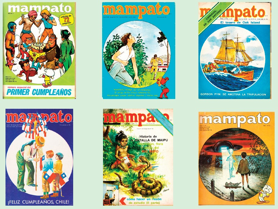 Portadas Revista Mampato